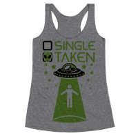 Single, Taken (UFO) Racerback