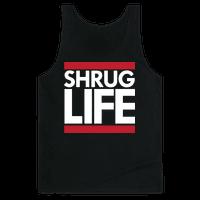 Shrug Life (Black Tank)