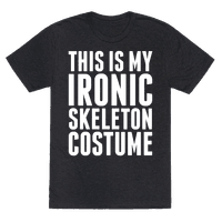 Ironic Skeleton Costume