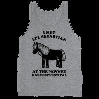 I Met Li'l Sebastian at the Pawnee Harvest Festival