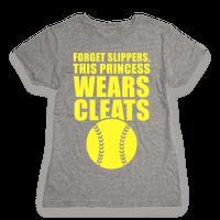 This Princess Wears Cleats (Softball)