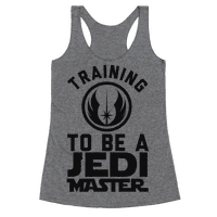 Training To Be A Jedi Master Racerback