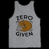 Zero Fox Given Tank