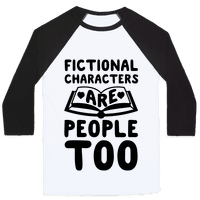 Fictional Characters Are People Too Baseball