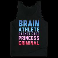Brain, Athlete, Basket Case, Princess, Criminal (Breakfast Club)
