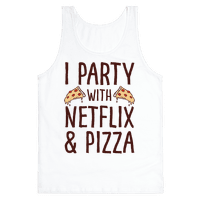 I Party With Netflix & Pizza Tank