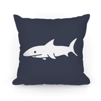 Big Shark Pillow (Navy)