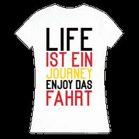 Life Ist Ein Journey Enjoy Das Fahrt