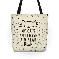 My Cats and I Have A Plan