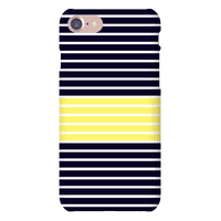 Navy and Yellow Stripe Case