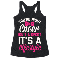 Cheer Isn't A Sport, It's A Lifestyle