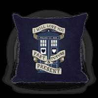 Doctor Who Tardis Pillow