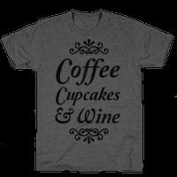 Coffee, Cupcakes & Wine
