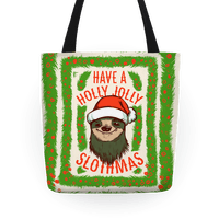 Have a Holly Jolly Slothmas!