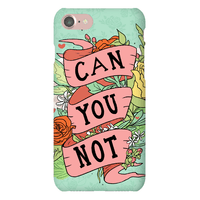 Can You Not? Floral Phone Case Phonecase