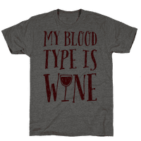 My Blood Type Is Wine