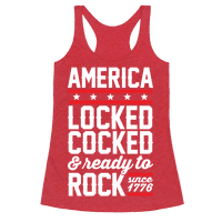 America Locked Cocked And Ready To Rock