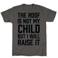 The Roof Is Not My Child But I Will Raise It