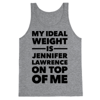 Ideal Weight (Jennifer Lawrence) Tank