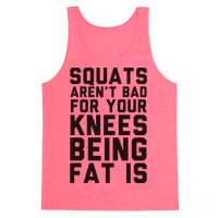 Squats Aren't Bad For Your Knees Being Fat Is