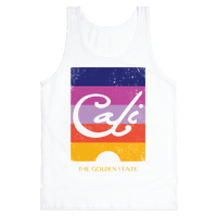 California - Sunset (Vintage) Tank