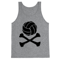 Volleyball and Crossbones (Vintage)