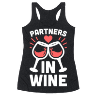 Partners In Wine Racerback
