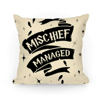 Mischief Managed Pillow