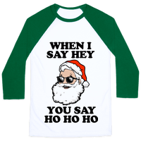 When I Say Hey, You Say Ho Ho