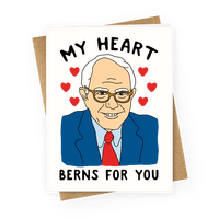 My Heart Berns For Sanders