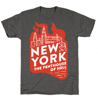 New York The Penthouse Of Hell Tee