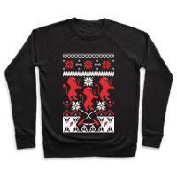 Hogwarts Ugly Christmas Sweater: Gryffindor