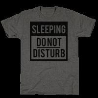 Do Not Disturb (Sleeping)