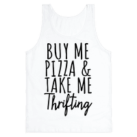 Buy Me Pizza and Take Me Thrifting Tank