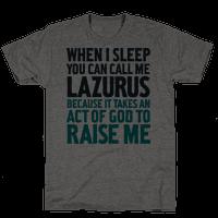 Call Me Lazarus