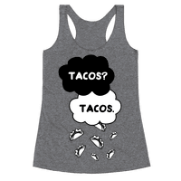 The Fault In Our Tacos Racerback