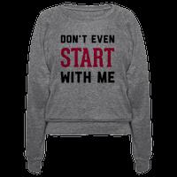 Don't Even Start