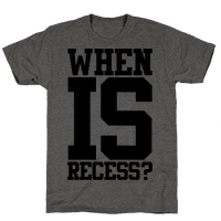 When Is Recess?