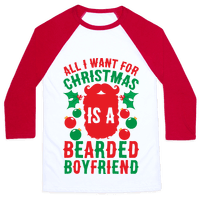 All I Want For Christmas Is A Bearded Boyfriend