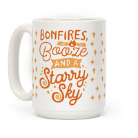 Bonfires Booze And A Starry Sky