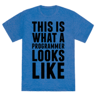 This Is What A Programmer Looks Like