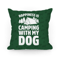 Happiness Is Camping With My Dog