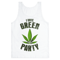 I Vote Green Party (Tank)