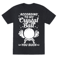 According To My Crystal Ball You Suck