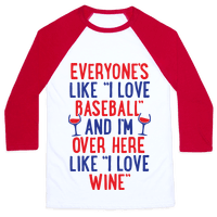 Baseball And Wine