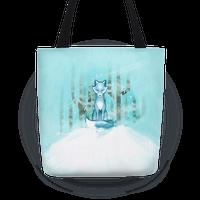 Blue Fox Tote