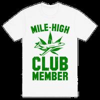 Mile-High Club Member (vintage tee)