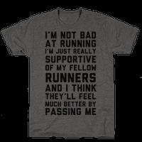 I'm Not Bad at Running