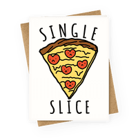 Single Slice Greetingcard
