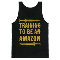 Training To Be An Amazon Parody White Print